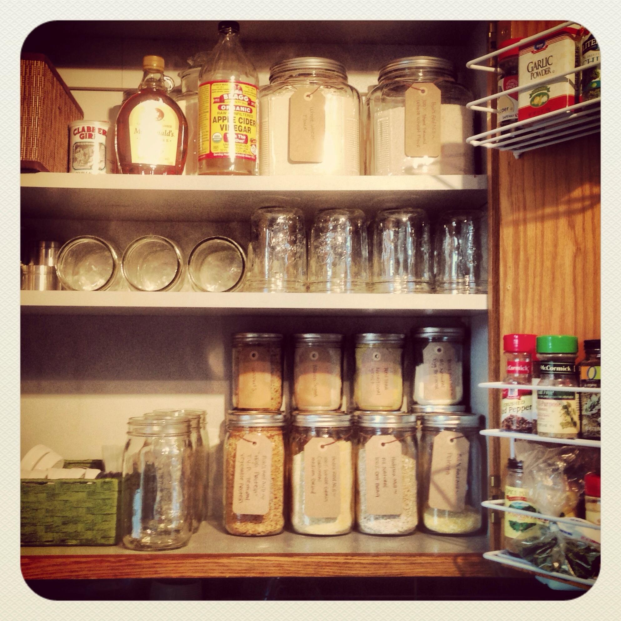 Organized Vegan Kitchen Part One Cupboards Week 7
